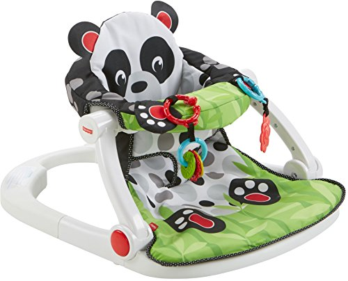 Fisher-Price Sit-Me-Up Floor Seat Panda Paws