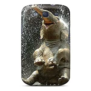 Hot Elephant Relieved First Grade Tpu Phone Case For Galaxy S3 Case Cover