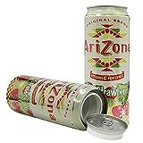 Arizona Kiwi Strawberry Diversion Safe Stash Can 23 oz w HumanFriendly Smell-Proof Bag