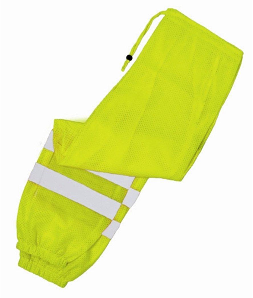 ML Kishigo 3108 Ultra-Cool Mesh Pant, Fits 2X-Large to 4X-Large Waist, Lime 3108 2X-4X