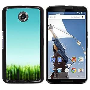 Be Good Phone Accessory // Dura Cáscara cubierta Protectora Caso Carcasa Funda de Protección para Motorola NEXUS 6 / X / Moto X Pro // Green Nature Minimalist Summer