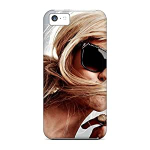 New Customized Design Girls Glasses Piercings Sunlight For Iphone 5c Cases Comfortable For Lovers And Friends For Christmas Gifts