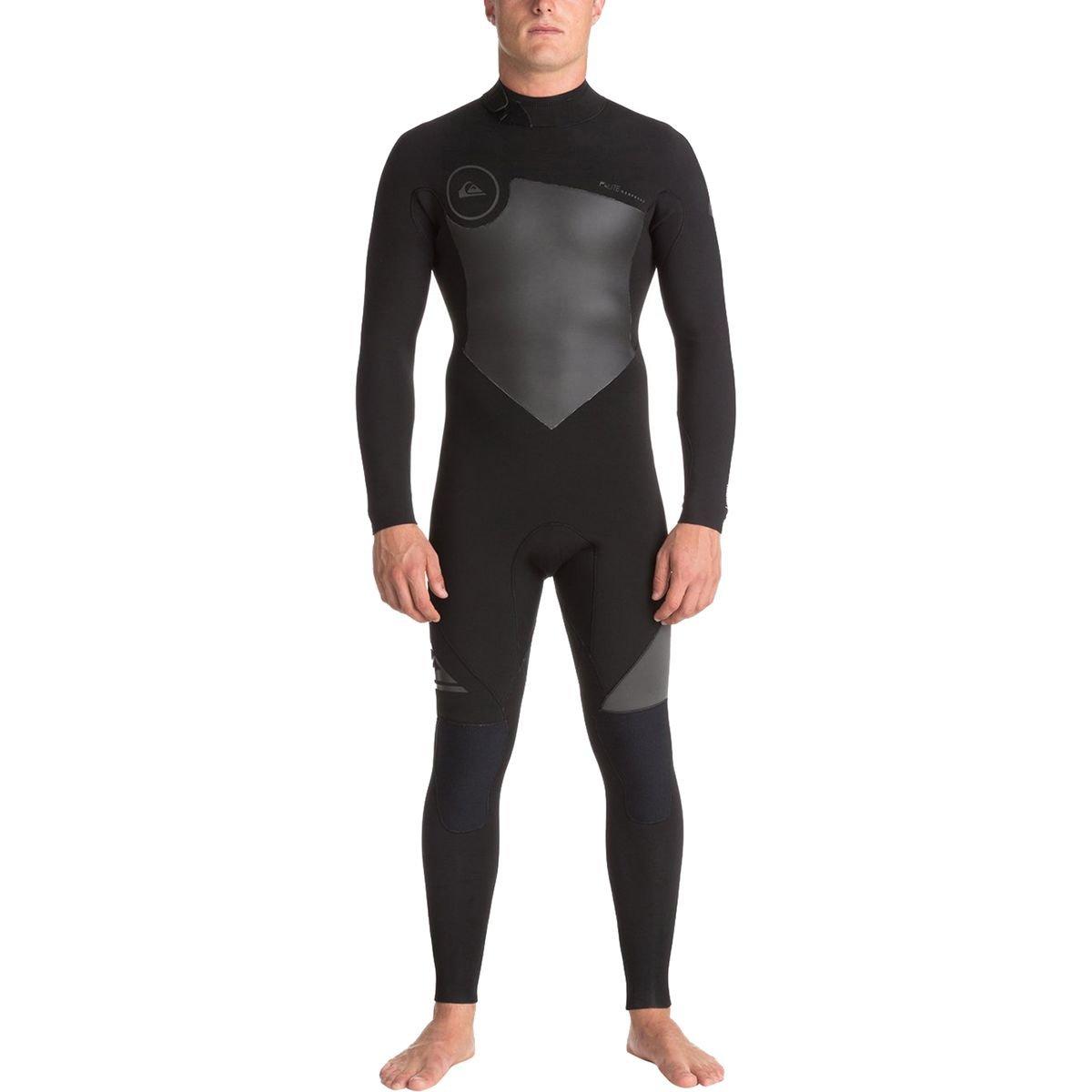 (Mt, Black/ Black/ Jet Black) - Quiksilver Mens 3/2Mm Syncro Series - Back Zip Gbs Wetsuit Back Zip Gbs Wetsuit   B01N4OOC5L