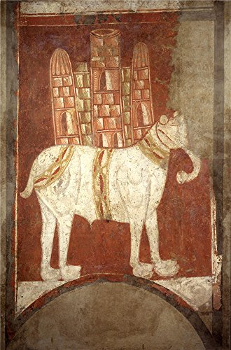 Oil Painting 'Anonymous 12 Century Elephant', 10 x 15 inch / 25 x 38 cm , on High Definition HD canvas prints is for Gifts And Basement, Bath Room And Gym Decoration, very large (Paul's Fruit Market Gift Basket)