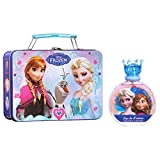 Disney Frozen 2 Piece Gift Set with Edt Spray and Metallic Lunch Box for Kids