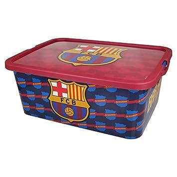 FCB Caja Almacenamiento Click de FC Barcelona, (STOR ST-02915): Amazon.es: Juguetes y juegos