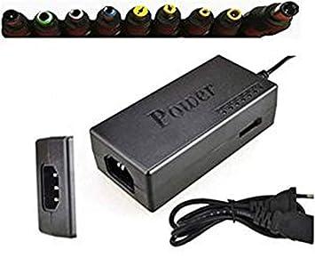 YOUBO Cargador Universal PORTATIL Notebook 120W Transformador 9 Clavijas PC Ordenador