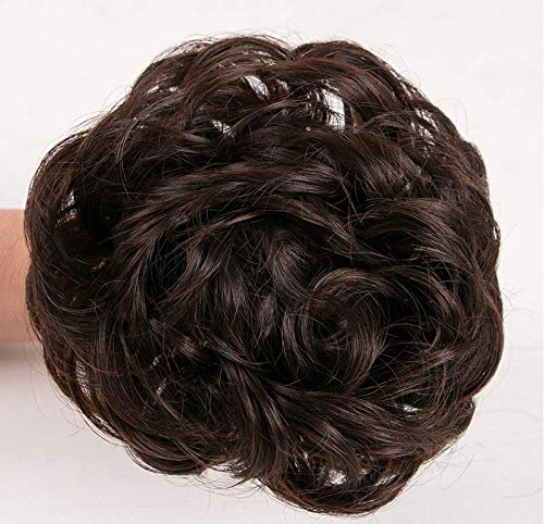 Hairband Chignons Synthetic Extensions Hairpieces product image