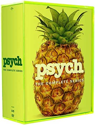 PSYCH: THE COMPLETE SERIES SEASONS 1-8 DVD SEASON 1 2 3 4 5 6 7 8