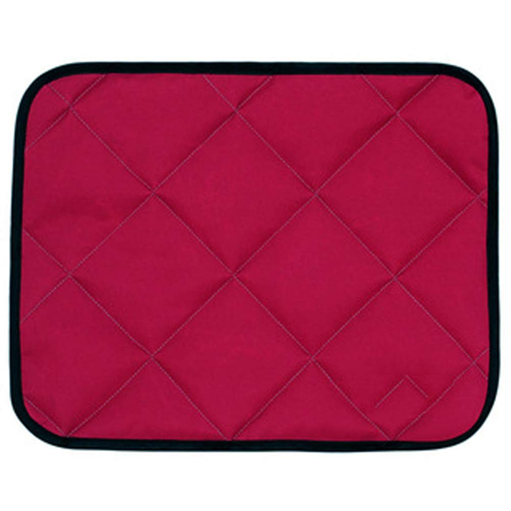 Red Medium red Medium Dog Bed Sleeping Pad Dog Bed Mat Crate with Foldable Washable for Pets Sleeping