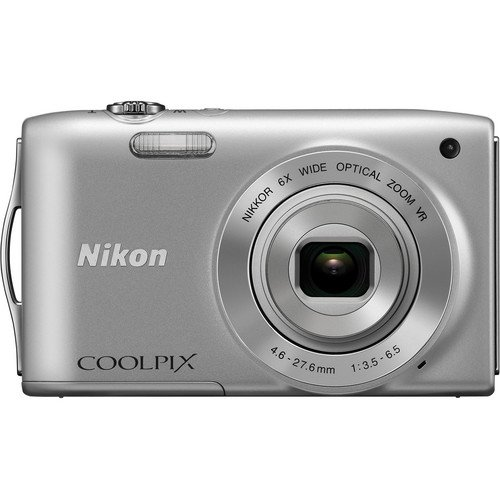 nikon-coolpix-s3300-16-mp-digital-camera-with-6x-zoom-nikkor-glass-lens-and-27-inch-lcd-silver-disco