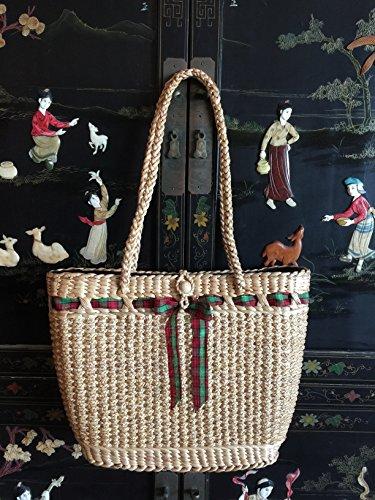 Handwoven Straw Bag,Straw Shoulder Bag,Straw Beach Bag,Straw Basket Tote,Straw Handbag,Straw Purse Bag,Seagrass Bag,Straw Market Tote,Basket -
