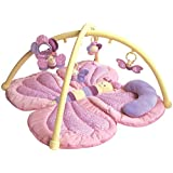 Little Bird Told Me Billowy Butterfly Play Gym Baby Toy, Pink, One Size