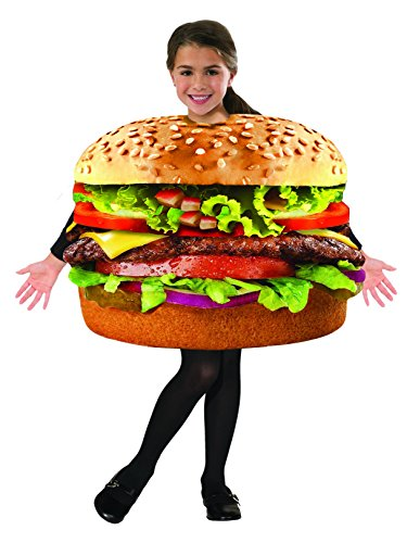 Forum Novelties 78008 Kids Hamburger Costume, One Size, Pack of 1 -