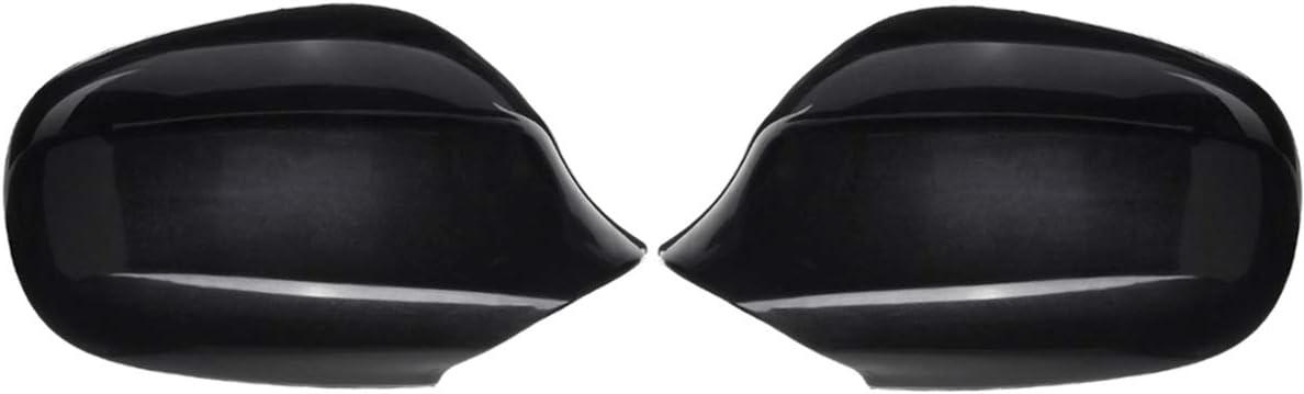 SLONGK 1 Paar R/ückspiegelgeh/äuse Links rechts R/ückspiegelabdeckungen f/ür BMW E90 E91 2009 2010 2011 2012