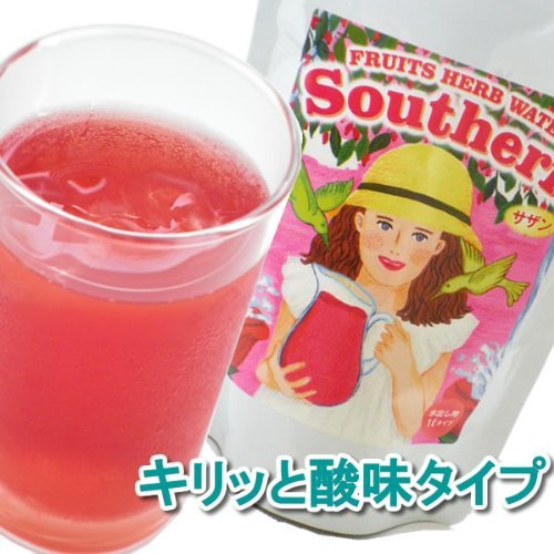 Fruit herb water Southern water out herbal tea / refreshing acidity type /6.5gx20 pack by Mint Magic (Image #2)