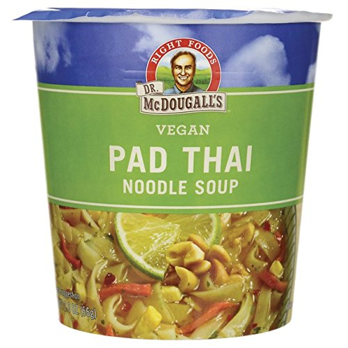 Dr. McDougall's Pad Thai Noddle Big Soup Cup, 2 oz