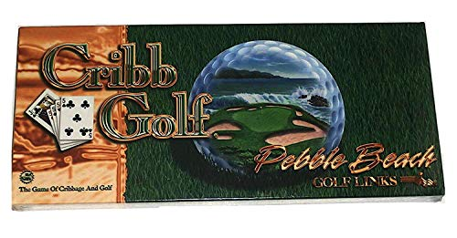 Cribb Golf ~ Pebble Beach Golf Links ~ The Game of Cribbage & Golf by JK Games, Inc.
