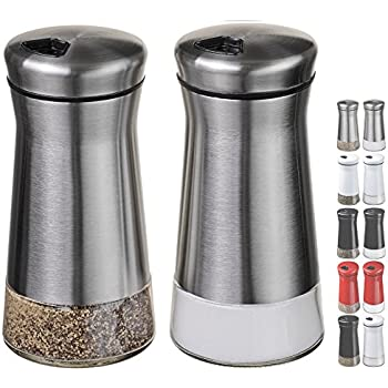 Kitchen Aid Salt And Pepper Shaker Stainless