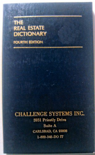 The Real Estate Dictionary