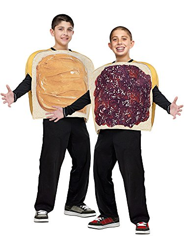 Peanut Butter & Jelly Child Costume (One