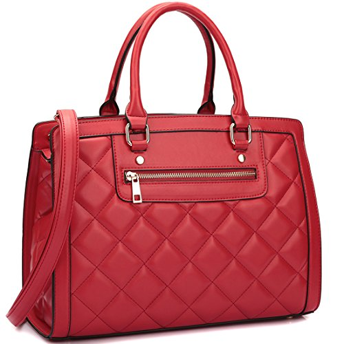 dasein-chic-structured-quilted-satchel-soft-faux-leather-shoulder-bag-purse-with-front-zipper-for-wo