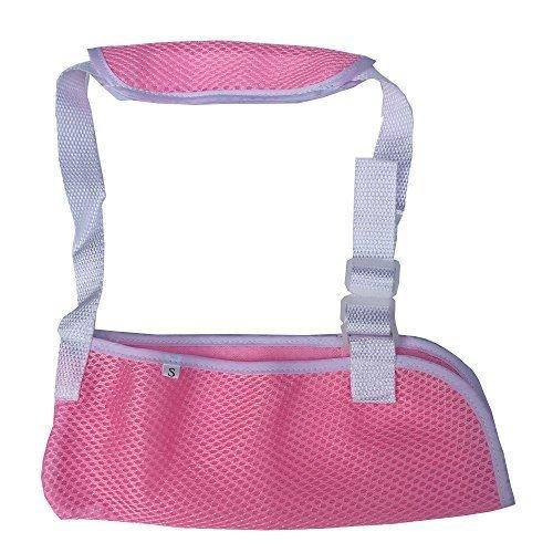 uni Arm Sling for Kids & Toddlers Shoulder Immobilizer Sling (Pink S-Size)