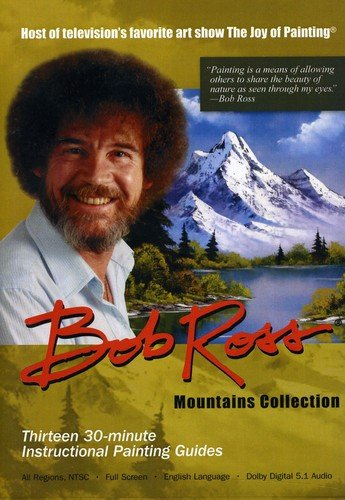 DVD : Bob Ross Joy Of Painting Series: Mountains (Boxed Set, 3PC)