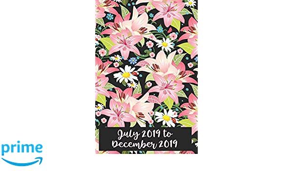 Amazon.com: July 2019-December 2019: Six Month Daily Planner ...