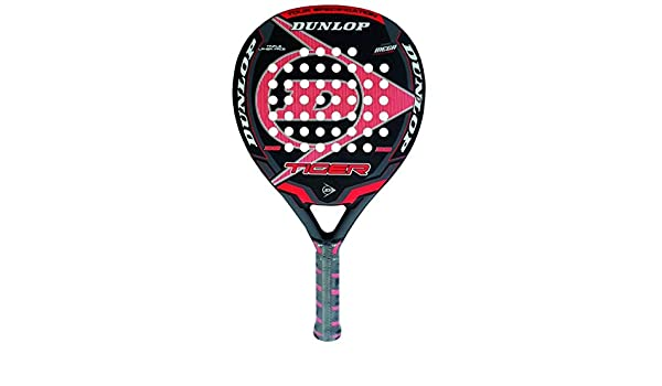 DUNLOP Tiger - Pala de pádel, Color Rojo, 38 mm: Amazon.es: Deportes ...