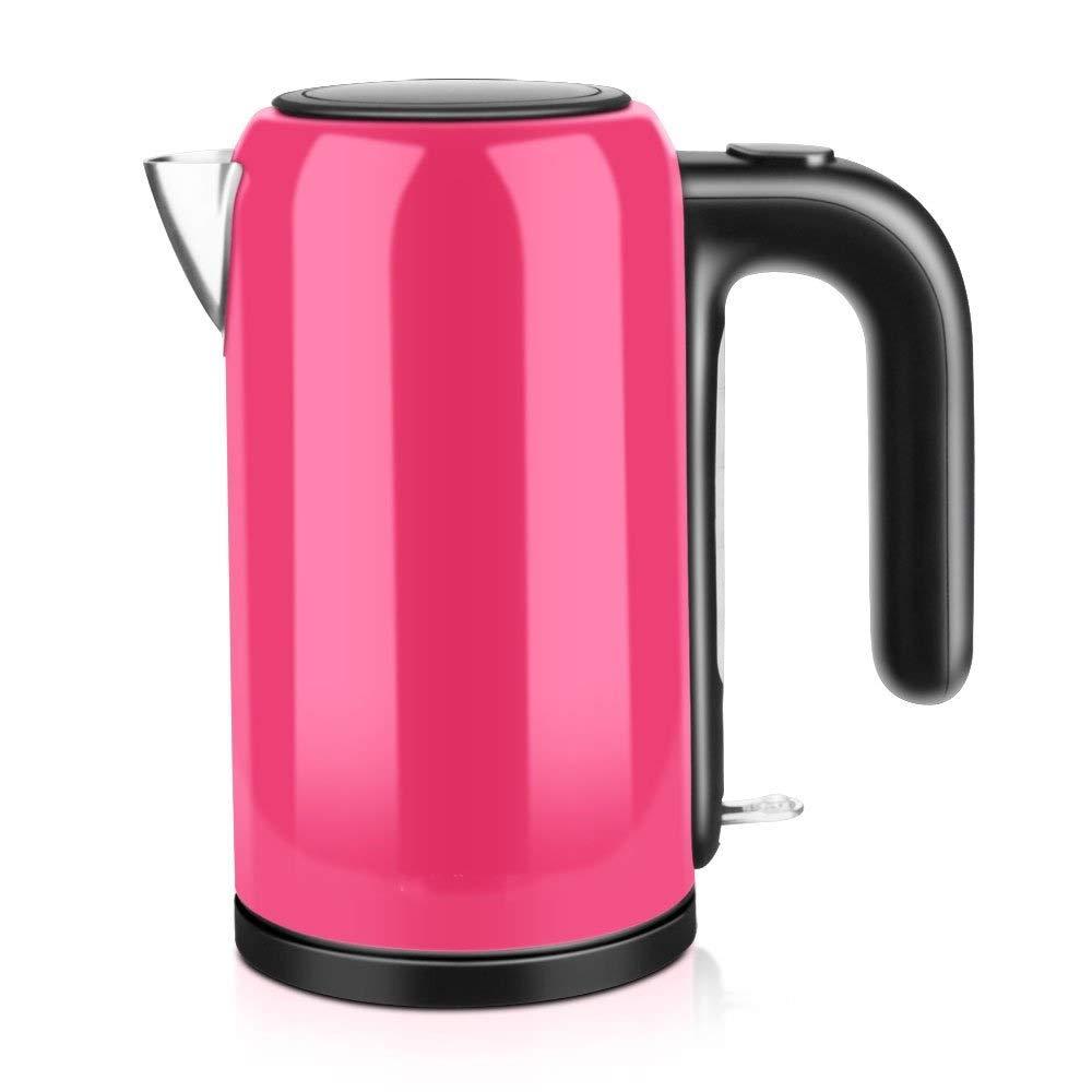 【今日の超目玉】 ZAQXSW 家庭用やかんを離れた電気水やかんの健康の鍋304のステンレス鋼の自動電源 (色 : 紫の)  紫の B07QKWNCNZ, ジーニングハウス JACK本店 da0604e0