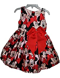 Toddler Girls Minnie Mouse Dress Skirt 2-6y