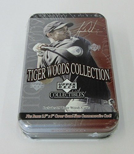 2001 Upper Deck Golf Tiger Woods Collection Factory Set