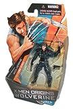 X-Men Origins Wolverine Comic Series 4 Inch Tall Action Figure - Strike Mission WOLVERINE with Pistol