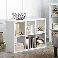 Hudson 6 Cube Bookcase -