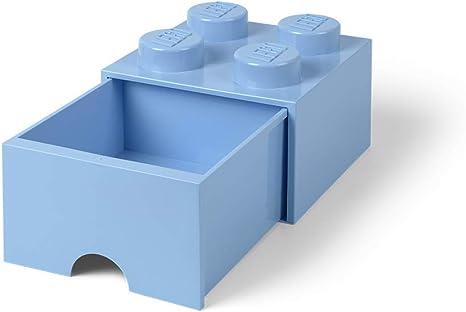 Lego 4 Trans Light Blue 2x2 round circle brick block NEW