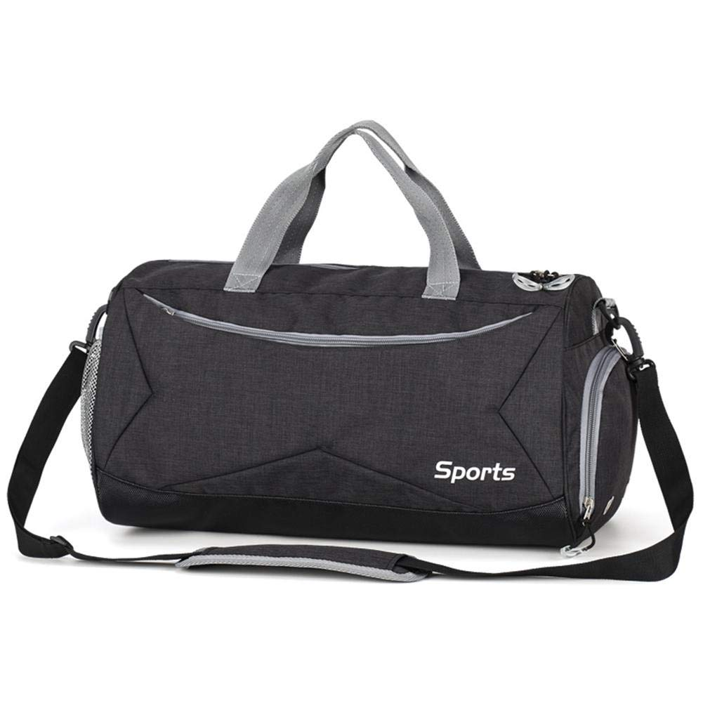 Oshide Sports Fitness Bag Hombres y mujeres Bolsos de hombro Paquete de equipaje Art/ículo seco y h/úmedo Bolsa de separaci/ón para hombres Bolsa de mensajero para hombres Bolsa de deporte deportiva