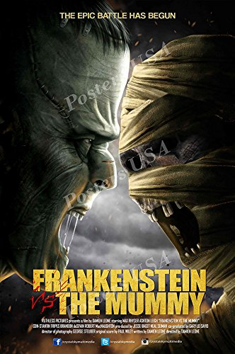 Posters USA Frankenstein Vs The Mummy GLOSSY FINISH Movie Poster - FIL880 (24