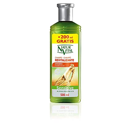 Naturaleza y Vida Sensitive Revitalizante Champú - 500 ml
