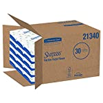 Surpass Facial Tissue Flat Box (21340), 2-Ply, White, Unscented, 100 Tissues/Box, 30 Boxes/Big Case