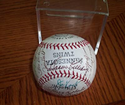 Minnesota Twins Autographed Signed 1970 Team Baseball - Signed by 28 Team Members - Killebrew - Carew - Rigney - Excellent Condition