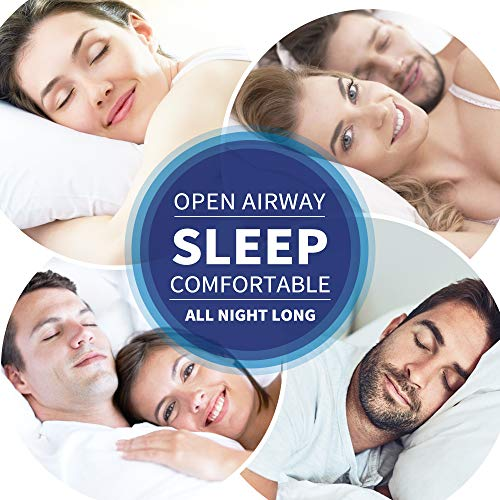 ASprink Anti Snoring Devices - Snoring Solution 8 Silicone Nose Vents to Stop Snoring Nasal Dilators 2 Types Mute Snore Stoppers Snore Reducing Aid for Men & Women