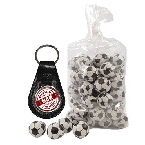 Lait 1stopshops Best Mum Chocolat En World's clés De Et Seal Ballons Au Porte Sac 200 nbsp;g Cuir Design qqra1