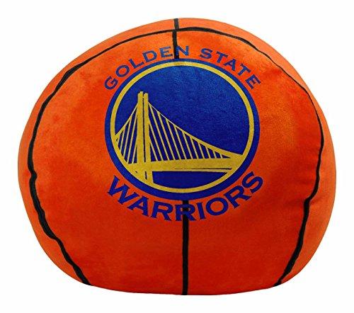 NBA Golden State Warriors Cloud Pillow, Blue, One (Nba Basketball Team Pillow)