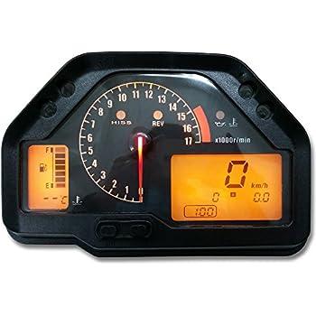 ZXMOTO Speedometer Gauges Cluster Tach Odometer for Honda CBR 600 RR F5 2007-2012 2008 2009 2010 2011