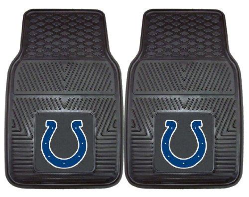Indianapolis Colts Heavy Duty 2-Piece Vinyl Car Mats 18
