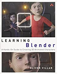 Create Amazing 3D Characters with Blender: From Design and Modeling to Video Compositing        Learning Blender  walks you through every step of creating an outstanding animated character with the free, open source, 3D software Blender, and ...