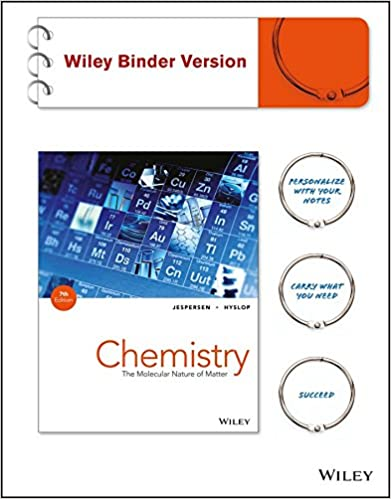 Chemistry binder ready version the molecular nature of matter chemistry binder ready version the molecular nature of matter neil d jespersen alison hyslop 9781118413920 amazon books fandeluxe Images