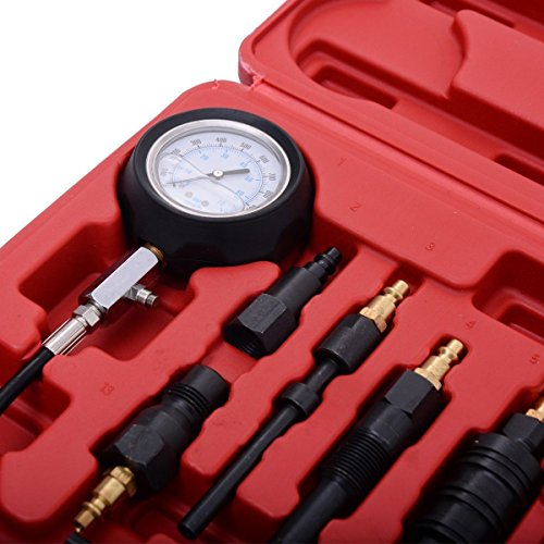 PMD Products Diesel Engine Compression Pressure Tester for GM Duramax Ford Cummins International NAVISTAR Detroit CAT Engines 1000PSI by PMD Products (Image #3)