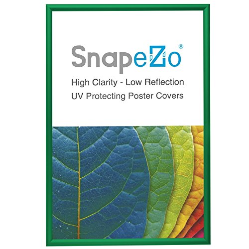 "SnapeZo Movie Poster Frame 24x36 Inches, Light Green 1.2"" Al"